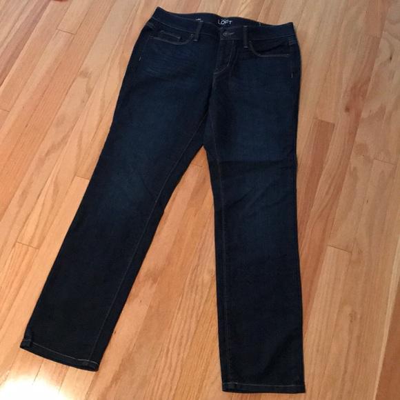 LOFT Denim - LOFT modern straight jeans